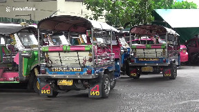 item: 'Thailand's famous tuk-tuks rusting and gathering dust as Covid-19 decimates tourism industry'