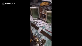 item: 'Resident films messy flat after 6.0-magnitude earthquake strikes southern China'